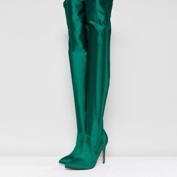 20c0f2a4f92 ASOS KENDRA Point Over The Knee Boots